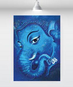 mystical-blue-ganesha
