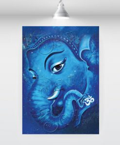 mystical-blue-ganesha
