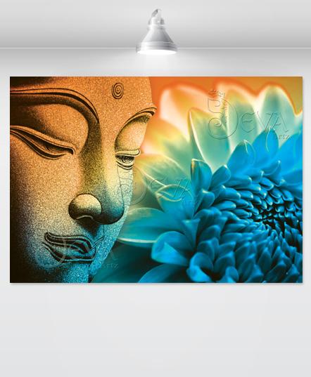 the-great-buddha-orange-blue