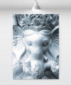 white-sculpture-ganesha