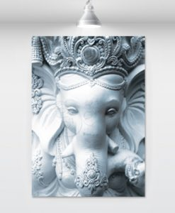 white-sculpture-ganesha