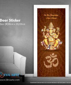 door sticker