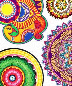 Kolam Stickers